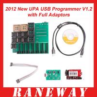 Best Quality 2012 New UPA USB Programmer V1.2 with Full Adaptors UPA-USB Programmer V1.2 Free Shipping By DHL