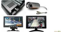 Free shipping, professional 7 cm professional car monitor AV interface display
