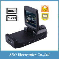 "1080P Car Black Box K2000 with 2.0"" LCD Motion Detect HDMI Night Vision high resolution lens HDMI carcam freeshipping wholesale"