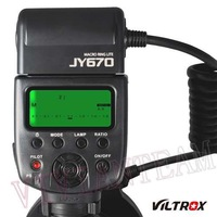 Viltrox JY-670 Macro Close-Up O Ring LED flash for Canon Nikon Pentax Olympus DSLR Cameras