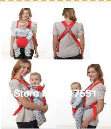 Baby Carrier  free shipping # 2013 New arrive Baby Carrier Sling Portable Front Carrying Strap Soft Cushion Infant Backpack