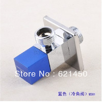 Hot and Cold Triangle Valve Brass Chrome Flash Angle Valve For Bathroom and Kitchen