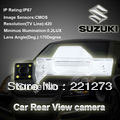 100% Ccd Car Parking Rear View Camera Wide Angle Night for Vision Rear Camera for Suzuki Grand Vitara with 4 Hd Led Lights