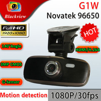 """Free shipping Blackview Newest 100% Original Full HD 1080P 30FPS G1W 2.7"""" LCD Car DVR Recorder with G-sensor H.264"""