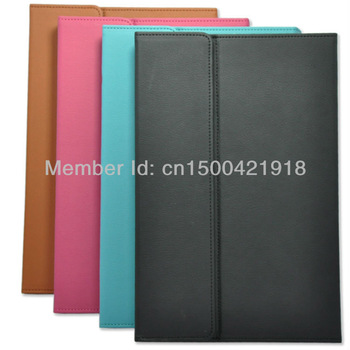Promotion Multi-Angle Folio Stand Leather Case for Windows Surface RT / Windows 8 Pro Tablet PC
