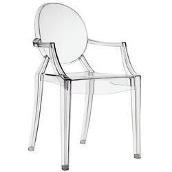 Ghost Chair With Arms For Dining Room + Free Shipping(China (Mainland))
