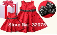 free ship new 2014 Princess cute sleeveless dresses summer girls dresses Fashion beautiful dress