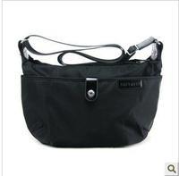 free shipping 2013 brief vintage big messenger bag casual waterproof one shoulder nylon bag women's cross-body handbag