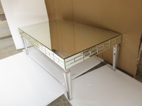 MR-401308 fashion mirrored coffee table