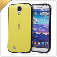 30pcs Newest TPU+PC Korea Candy Colorful Iface cover for Samsung Galaxy S4 I9500 i9500 cover Wholesale Free shipping