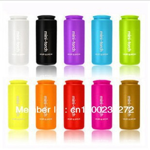 Mini Touch Super Bright LED USB Chargeable Flashlight For Gift Camp Or Home -Variety Colors(China (Mainland))