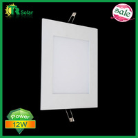4pcs/Lot, Freeshipping Square LED Panel light 160x160mm 12W SMD3014 Warm White/White Mini Panel Light with Power adapter