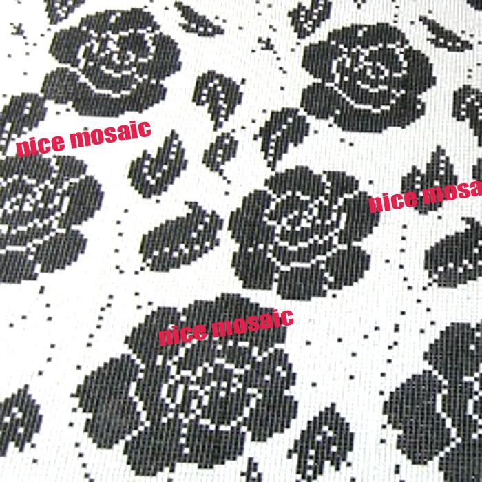 Witte Gyproc Badkamer ~ wit zwart roze bloemen patroon glasmoza?ek achtergrond badkamer muur