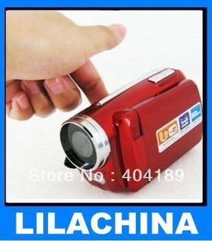 """DV139 Digital Video Camera LED FLASH LIGHT CAMERA DV 1.8"""" Digital Video Camera Camcorder 10PCS/LOT"""