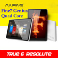 Free shipping AllFine Fine7 Genius 7inch IPS  Tablet PC ATM7029 Quad Core 1.5GHz 1GB RAM 8GB Android4.1  Webcam WIFI HDMI MID