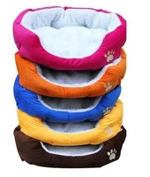 Free shipping Cashmere-like soft warm Pet Bed Nest luxury warm dog bed, A0045