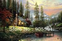 Landscape Canvas Prints Realistic Oil Painting Picture Printed On Canvas P114 40x60cm