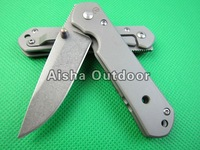 CR Mini Knife Camping Pocket Knife Survival Knife 3Cr13Mov Blade Full Steel Handle Gift Knife Free Shipping
