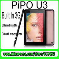 WCDMA phone call Tablet PC 7 Inch IPS Screen PIPO U3 3G RK3066 Android 4.1 16GB Dual Camera Bluetooth HDMI tablet pc