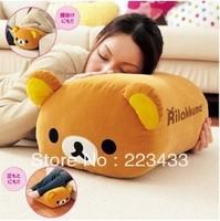 M'lele Big size couples Rilakkuma San-X Cute Bear Plush Pillow  Cushion toys for babies