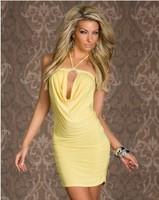 2013 new yellow sexy lingerie set sexy clubwear dress Clubwear Lingerie S142