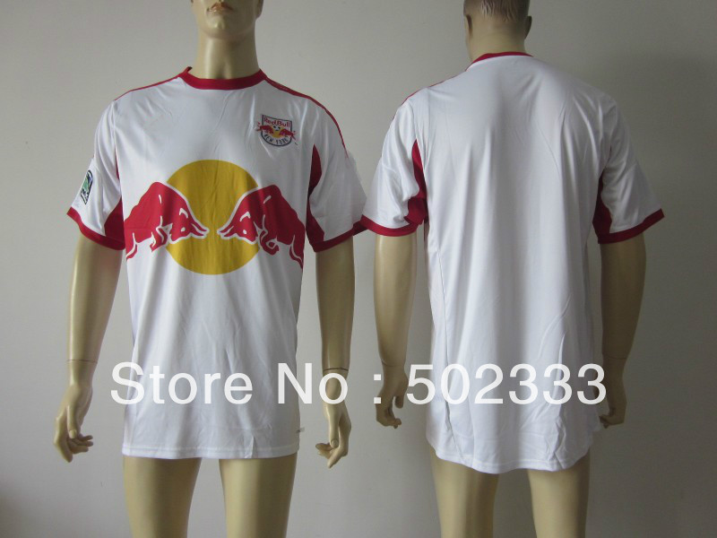 Ht sell !New York 2013 season home jersey thai quality soccer football jersey, soccer jersey, size:S-XL(China (Mainland))