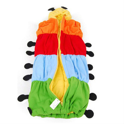 Free shipping!Baby Banana Sleeping Bag ,the caterpillar modelling sleeping bag(China (Mainland))