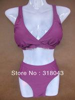 Plus size  Womens Padded Bikini Top Swimsuit Bathing Suit High Waist Bottom Swimwear L XL XXL XXXL BJF004