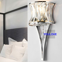 2 year warranty High Quality Cryal foyer bed room Wall light /Porch light/wall lamps/ bedside lamp/ corridor stair way lights