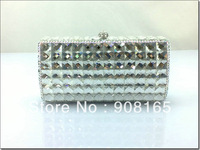 2013 women small bag,new white clutch crystal,women fashion designer bags.free shipping
