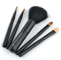 Hot sell ! FREE SHIPPING High quality 5PCS/LOT Makeup brush  set eye shadow brush  3 colour wholesale and retail