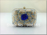 flower bag 2013,new clutch handbag women,fashion luxury crystal handbag.free shipping