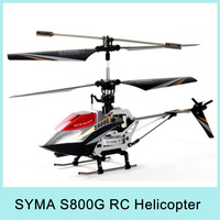 Syma S800G 4CH Infrared Controller RC Helicopter With Gyro As Gift for Kids' Birthday Christmas Drop Shipping