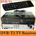 Free Shipping ,2013 New Version Original DVB-T2 Tuner TV Box Compatible with HDMI DVB T2 DVB-T MPEG-2 MPEG-4 H.264 1080P