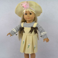 "Free shipping!! Doll Clothes outfit dress fits for 18"" American Girl Dolls, girl birthday present ,gift  AGC-077"