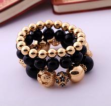 Fashion Accessories women s Beaded Elastic Bracelet Factory Wholesale