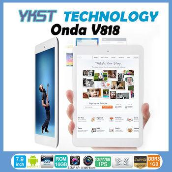 Cheap Onda v818 mini Allwinner A31S Quad core Android 4.1 Tablet pc