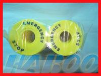 20pcs plastic panel label for emergency stop switch , inner diameter 22mm,external diameter 60mm