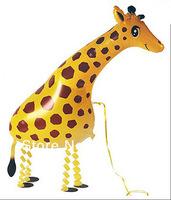 walking pet balloon walking giraffe  mix for your order