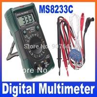 3 1/2 Digital Multimeter Detector Non-Contact Range LED Flash Warning MASTECH MS8233C, Free Shipping