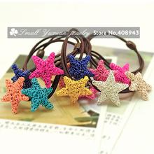 Banda acessórios bonito cabelo fino cor tran?a doce fio de a?o bandas Estrelas cabelo cabelo elástico para o bebé Frete grátis! FQ- 268(China (Mainland))