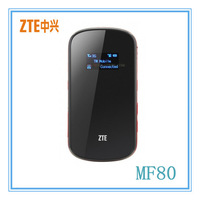 Unlock ZTE MF80 Mifi Router 42Mbps ,Hong Kong post free shipping