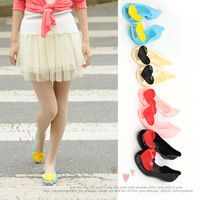 2013 spring and summer  open toe sandals Love heart  flat heel women's shoes wedges slippers