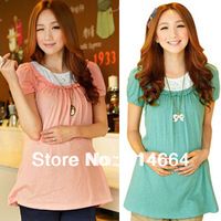 2014 New Arrival Spring and Summer Maternity Clothing Maternity T-shirt Top,Maternity dresses,Free shipping 0303#