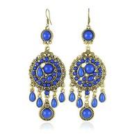 Free shipping Vintage Bohemia Drop Earrings Fashion Tassels Jewelry Wholesale Quality Guaranteed V-E1256