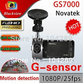 "GS7000 Car dvr 2.7 "" TFT 140 degree lens Full HD 1080p  G-sensor HDMI DVR H.264 G-Sensor Recorder Video Dashboard"