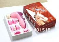 Free shipping 6 in 1 face clearner and face massager Facial Massage Beauty Instrument