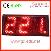 5 inch led digital desktop clock countdown clock count up clock