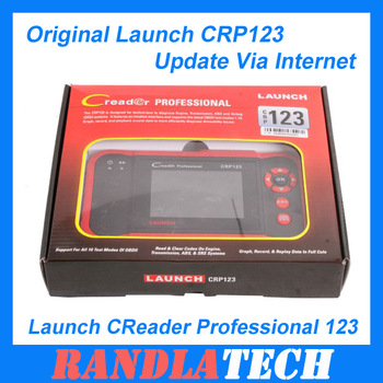 2013 Newly Arrival Launch CReader Professional 123 Launch CRP123 Update Via Internet Free Shipping By DHL