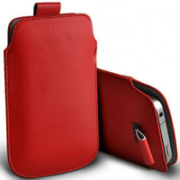 HK Free Shipping Leather PU Pouch Case Bag for fly iq446 Cell Phone Accessories